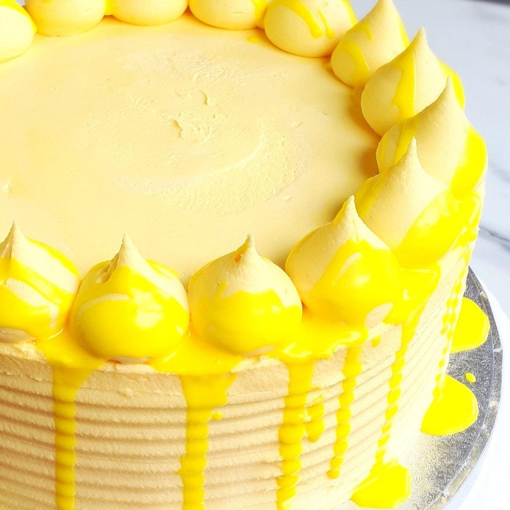 Lemon drizzle -