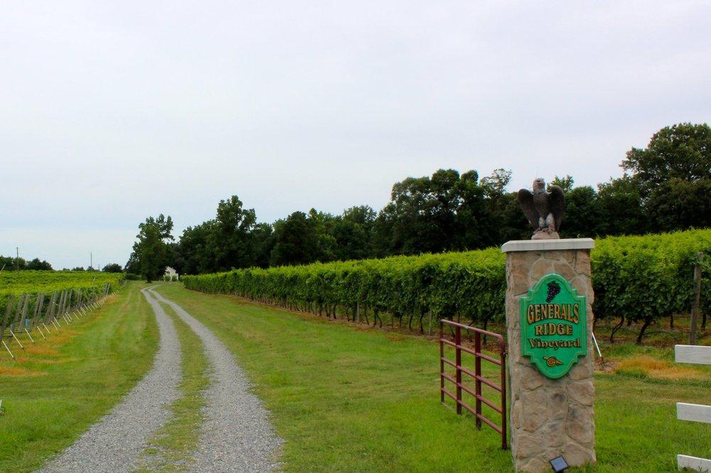 General's Ridge Vineyards