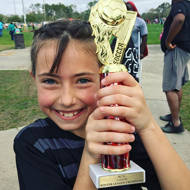 9-0-1. She is a champion today. My girl!!