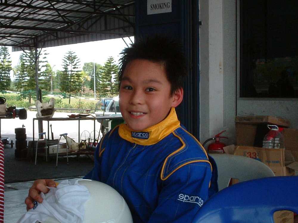 2007 - First go-kart experience.