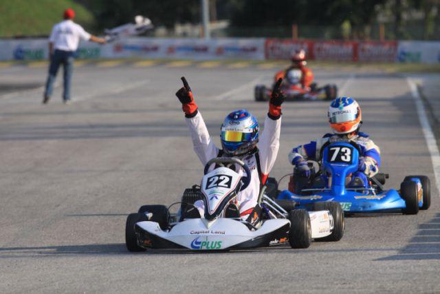 2010 - PLUS Yahama CL Cup - 1stPLUS Yamaha International Open - 1stAsian Karting Open Championship - 2nd
