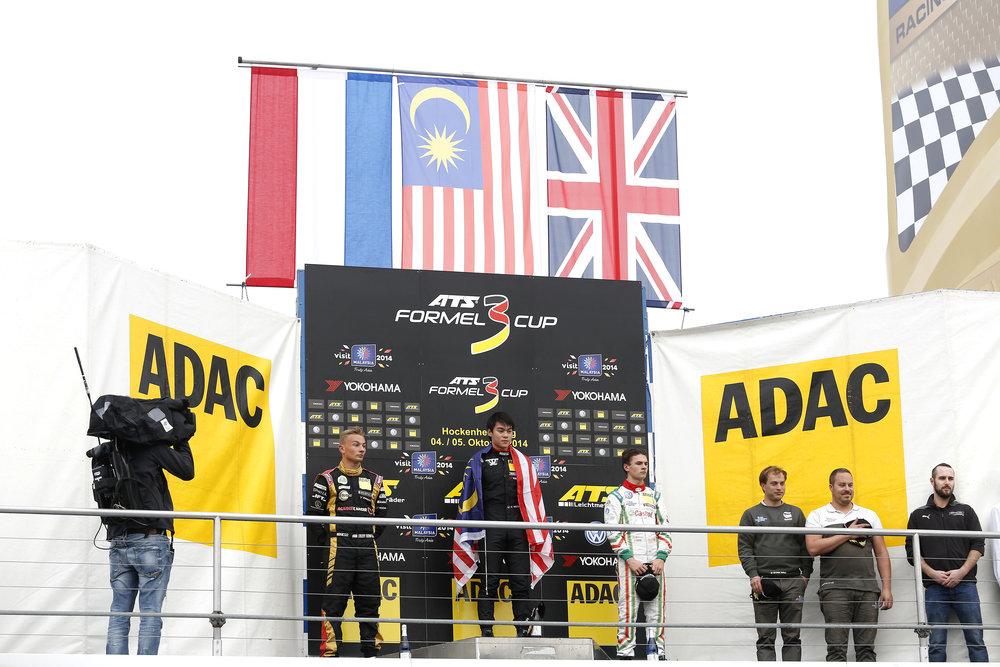 2014 - ADAC German Formula 3 - 3rd (Rookie)
