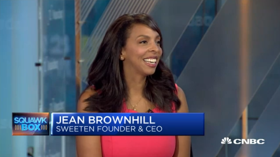 Jean Brownhill, Founder/CEO of Sweeten, featured in CNBC