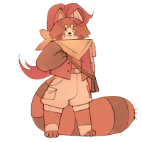 Yuria Bloodtongue - The Squire. Yuria Bloodtongue is a red panda, once torn apart by Aurorealis, but put back together by O.R.C. robots. She is Captain of the Pumpkin Patch, and can call on her old O.R.C. allies for help if she needs them. In spite of all this, she feels inadequate, and is here to find some kind of belonging or purpose.Yuria knows that They Need Me.Yuria is played by Riley.