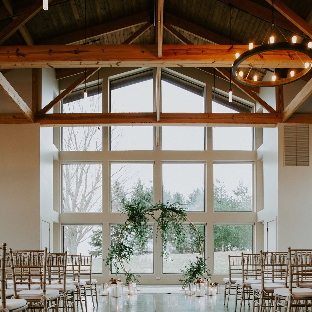 WEDDING - A transformative space that offers beautiful indoor and outdoor opportunities to celebrate with the convenience of all the modern amenities.