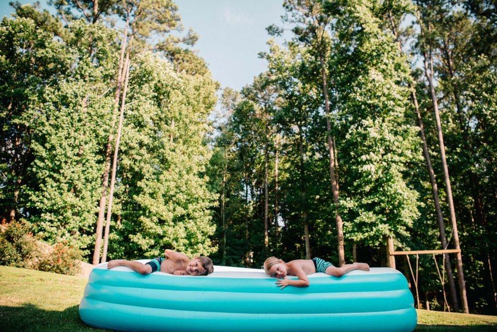 Summertime, Atlanta family fun, Atlanta family photography
