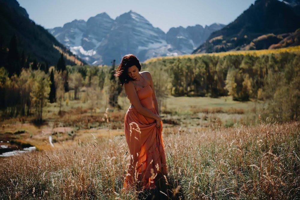 Atlanta family photographer, Colorado family photography, Maroon bells, Aspen, Grace
