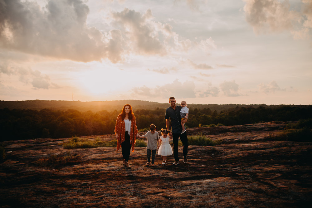 Arabia mountain, best atlanta photographers, kennesaw family photographers