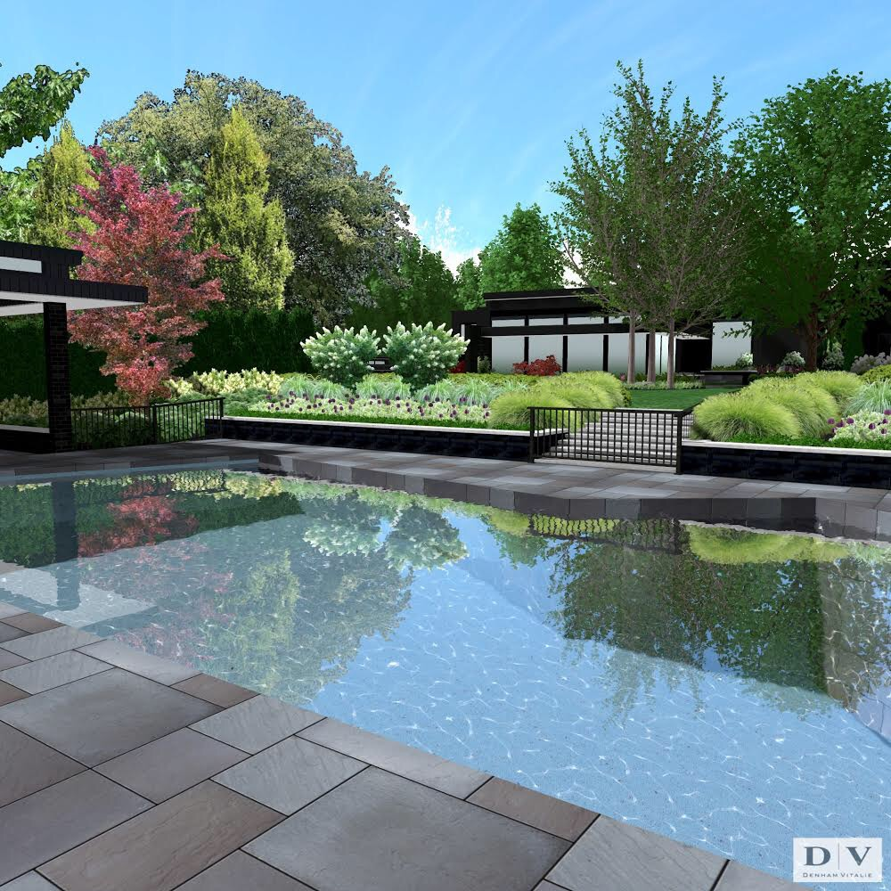 Landscape Design   We offer complete landscape design services. We also provide 3D renderings and 3D walk-thru's to envision the completed space -- as well as specifying all materials and plants to make your dream landscape a reality.