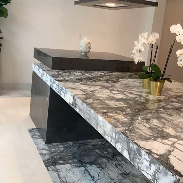 Thank you @temmermarble for such a great opening event! With their supply of custom marble, our creative design is unlimited.  #interiordesign #customdesign #marble