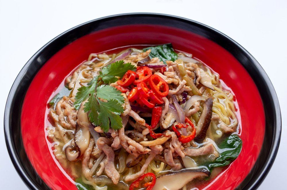 """THE BEST 130 PLACES TO EAT IN BRITAIN FOR £20 A HEAD - """"Classic noodle and rice dishes from China, Japan and Thailand come flying out of the busy open kitchen of this minimalist, informal noodle bar. There are shared benches, and the noise rises at peak times, but after 13 years, Yippee is something of a city institution, where cash-strapped students mingle with local families, and all leave satisfied"""" —The Sunday Times"""
