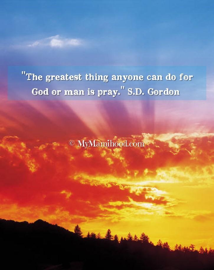 Gordon_Prayer