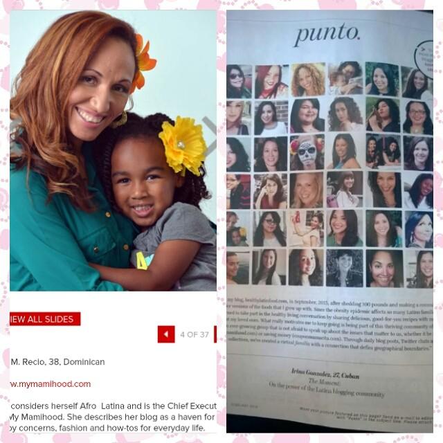 Latina Magazine Spread