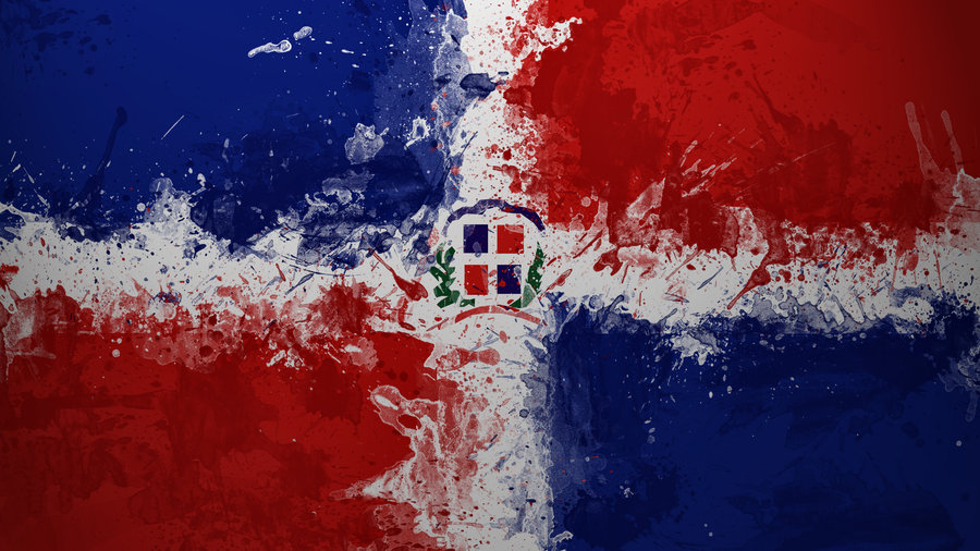 Dominican_Flag_Painting