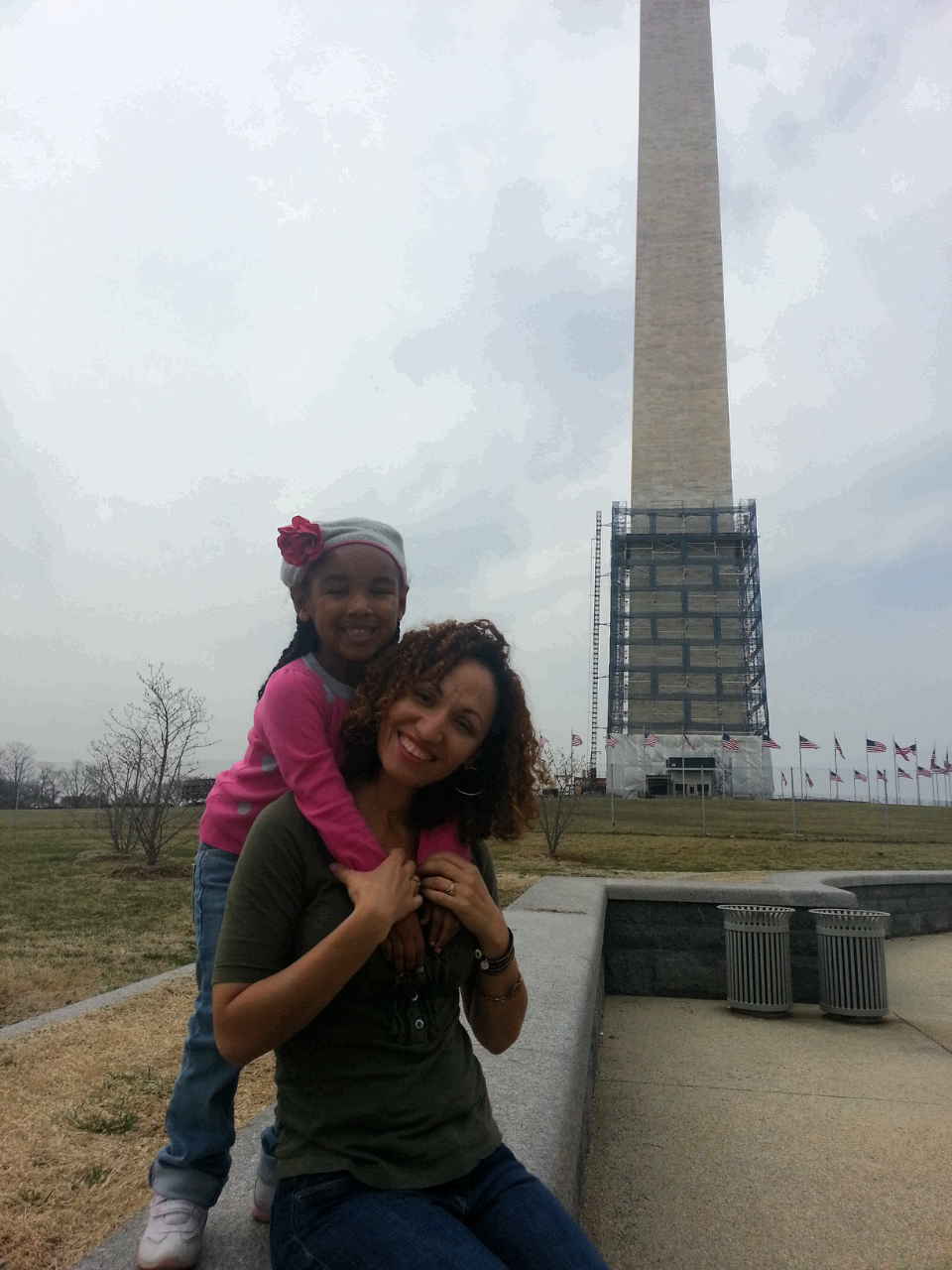 Mami and Frog Princess in DC