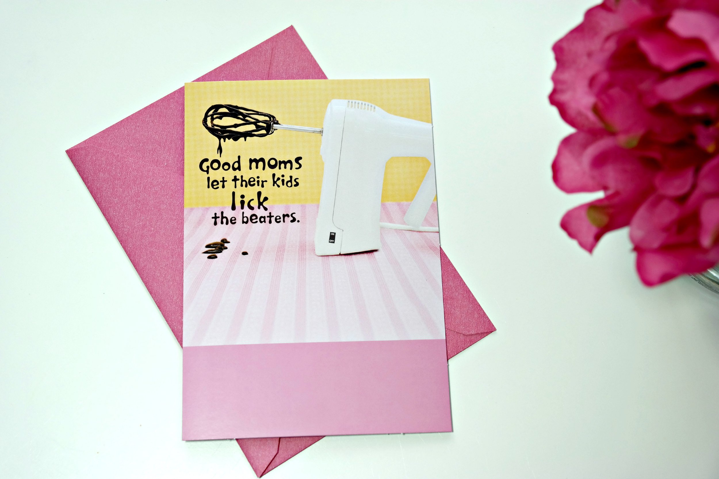 Good moms and batter! Hallmark helps us put your heart to paper with awesomeness like this!
