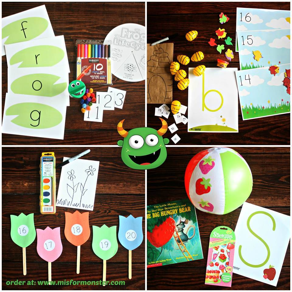 M Is For Monster - May Goodies