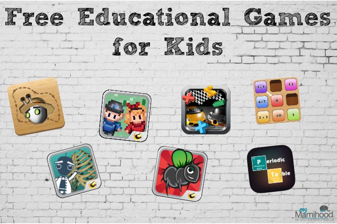 Free educational games for kids!