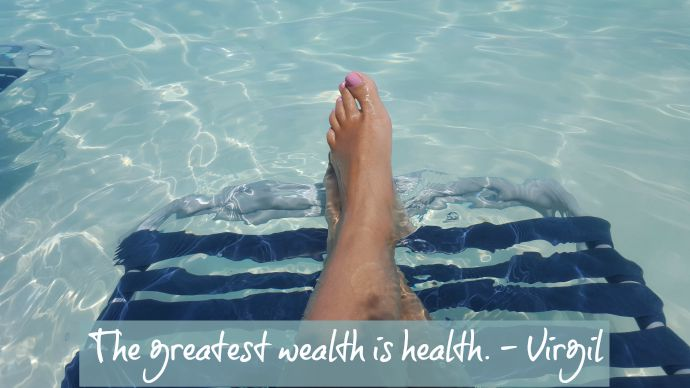 The greatest wealth is health. - Virgil