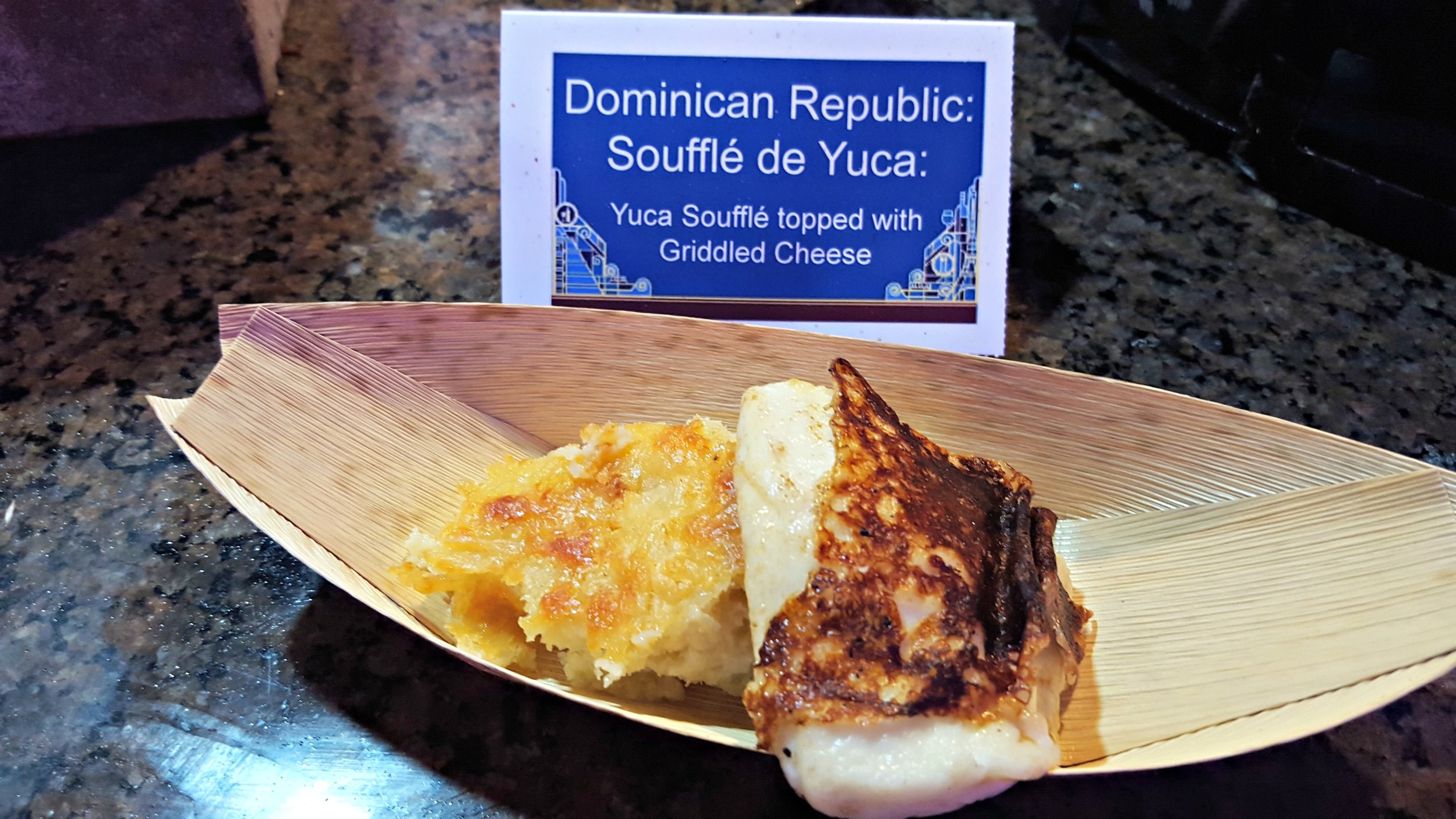 Souffle de Yuca with Grilled Cheese