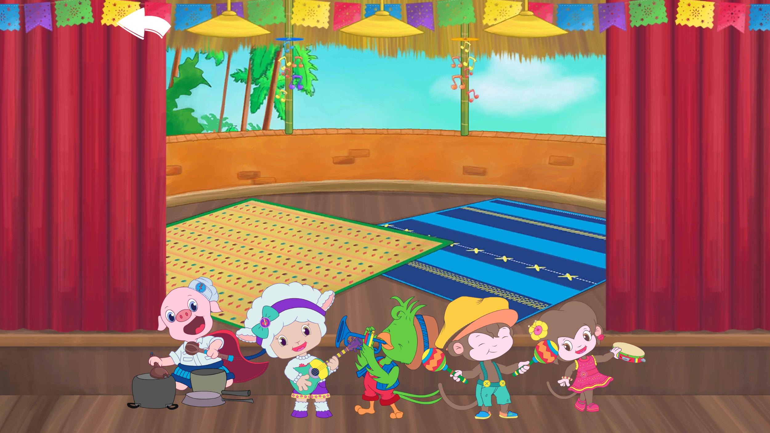 Mundo Lanugo Characters