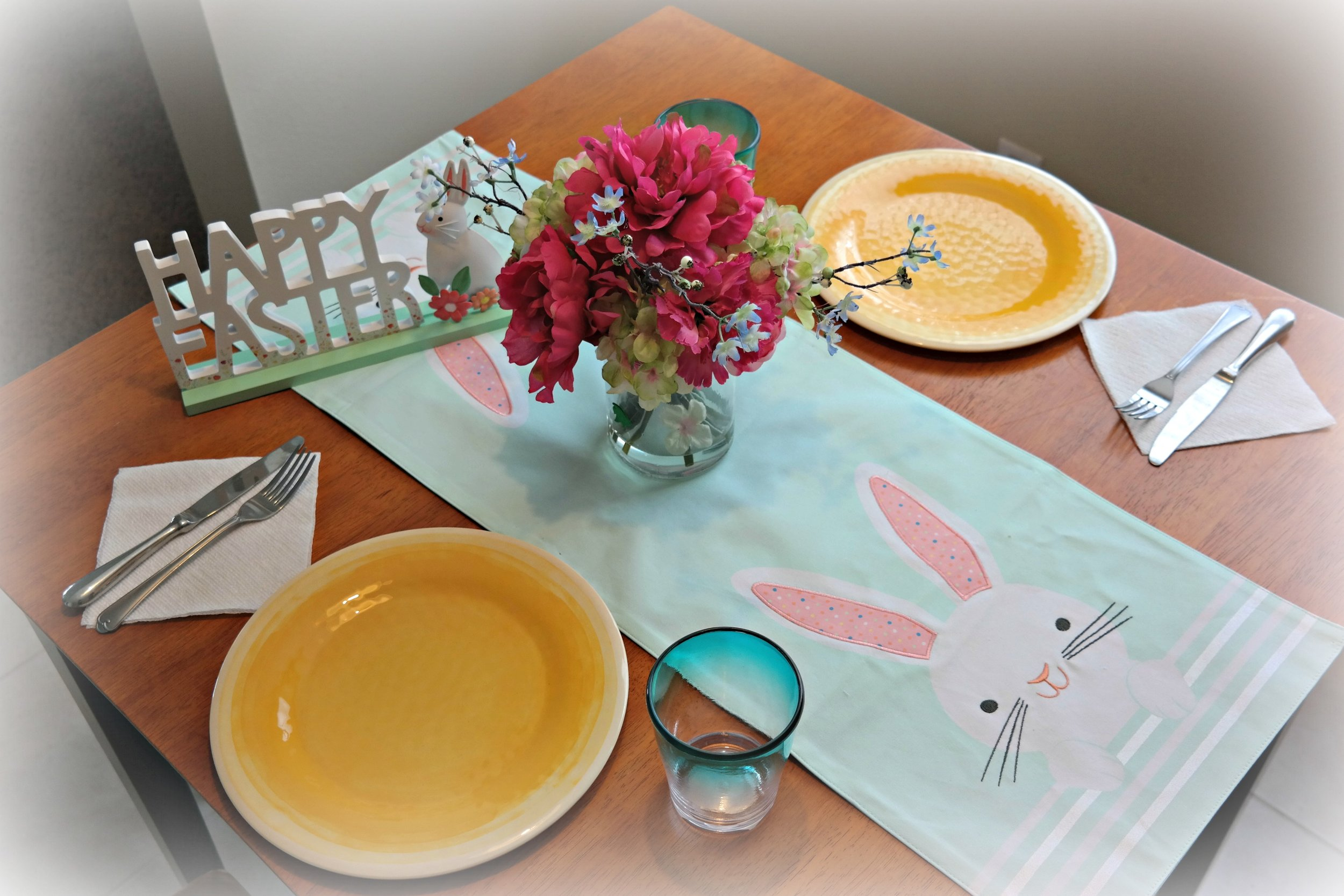 Easter table setting. #SpringAtKohls #spon