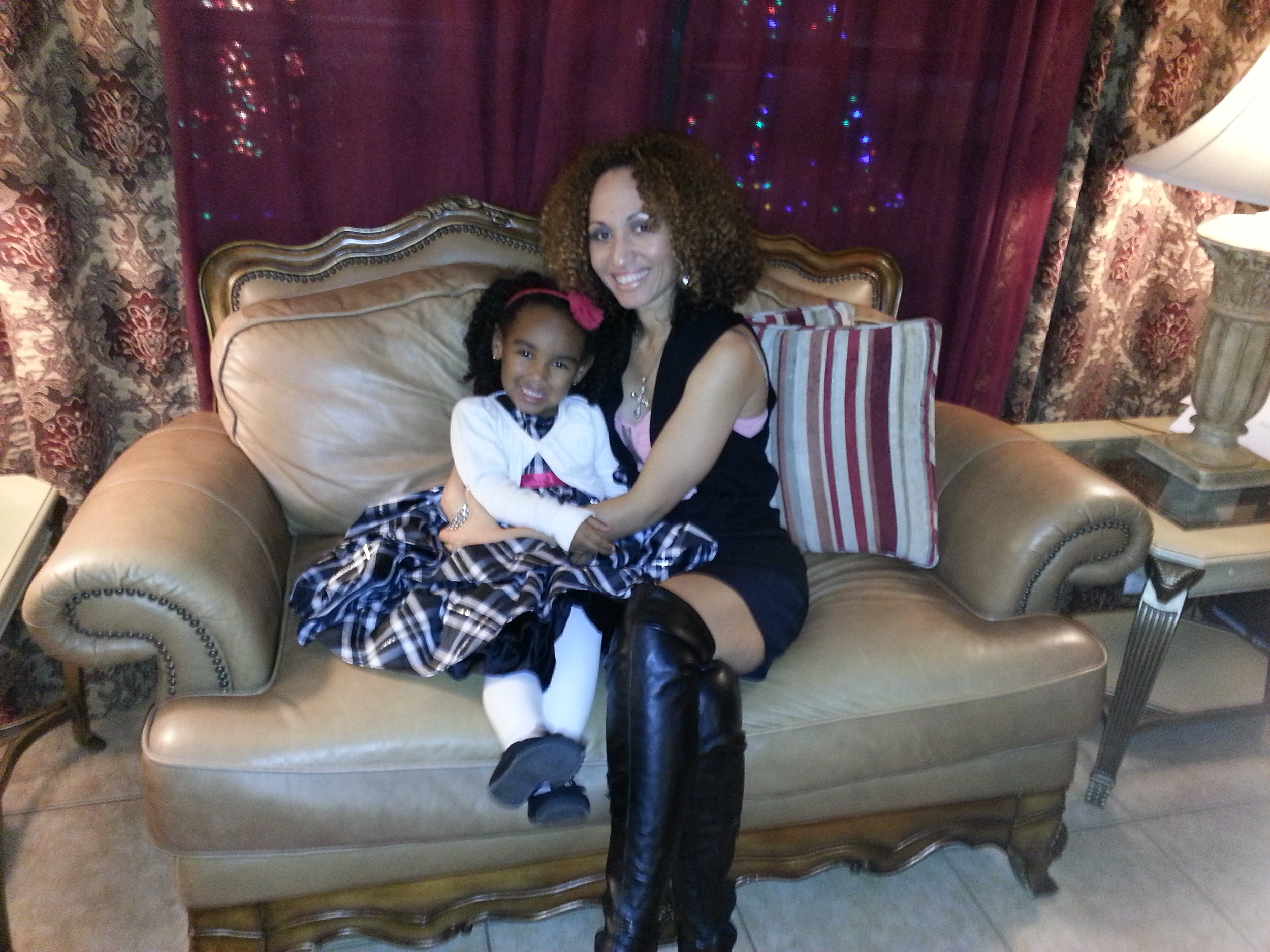 Elena and Mami