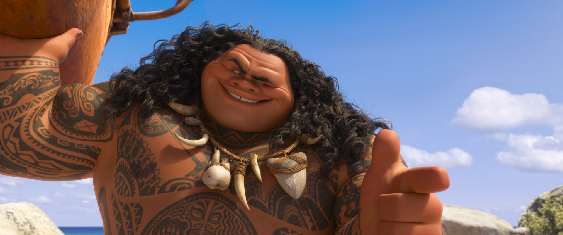 MOANA - (Pictured) Maui. ©2016 Disney. All Rights Reserved.