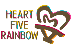 Heart Five Rainbow