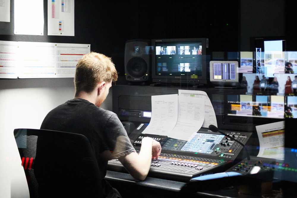 RMITV STUDIO ACADEMY - RMITV'S Broadcast operation training in the new RMIT studios.