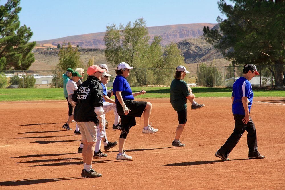 "THEN AND NOW - The Colorado Peaches began in 1991 and today, fortified by excellent coaching and a willingness to ""step up to the plate"", has 25 members/players ages 50 to 87 years young.We maintain a culture in which everyone is valued and welcome, regardless of age, ability, creed, ethnicity, and sexual orientation."