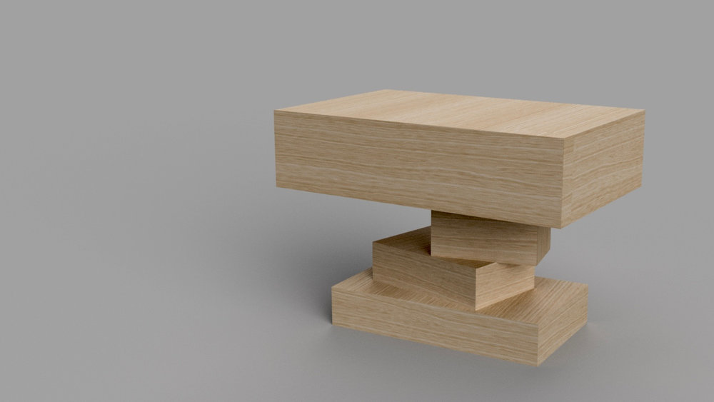 Stacked Bedside Tables
