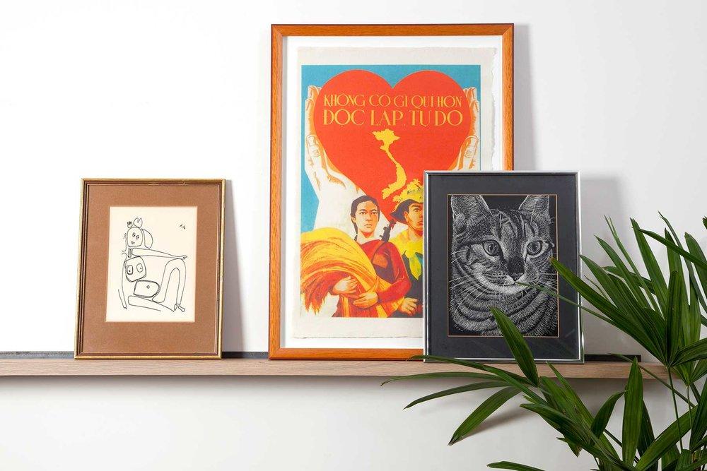 Art Shelf - Storage