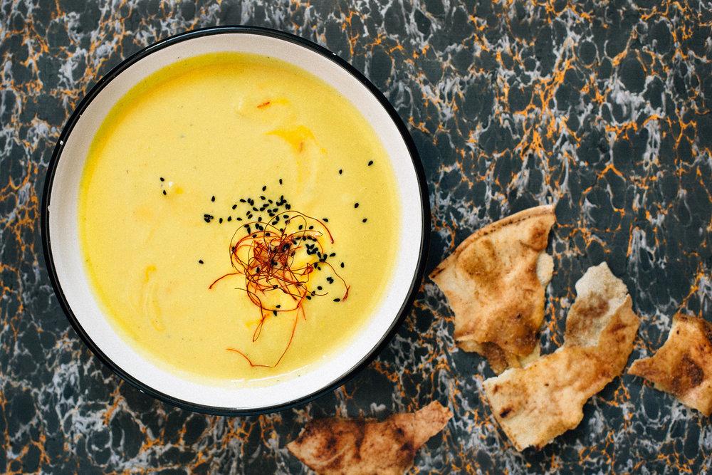 cauliflower and saffron soup1.jpeg