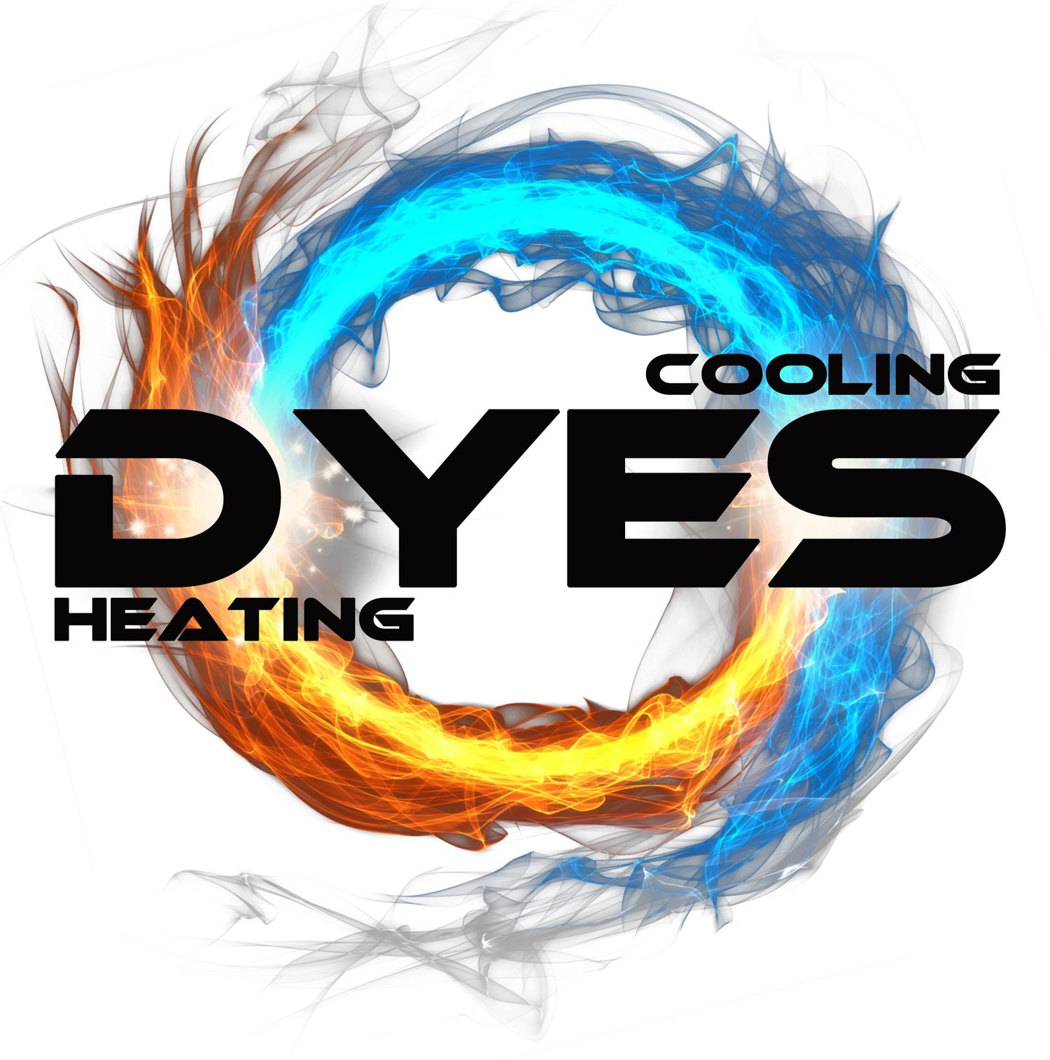 Dyes Heating and Cooling