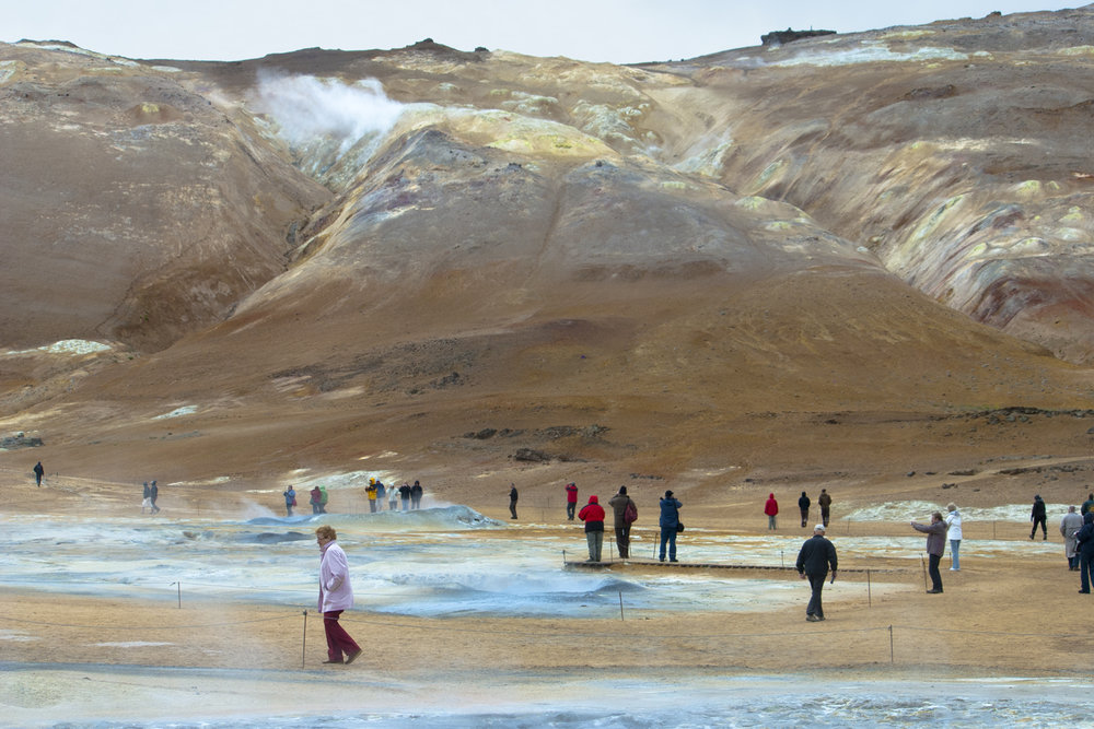 Tourists in the Nature of Iceland - Námaskarð - Óðinn Þór Kjartansson X.jpg