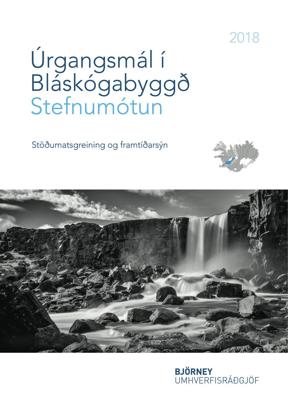 Úrgangsmál í Bláskógabyggð - Stefnumótun - Stöðumatsgreining og framtíðarsýn - Forsíða.jpg