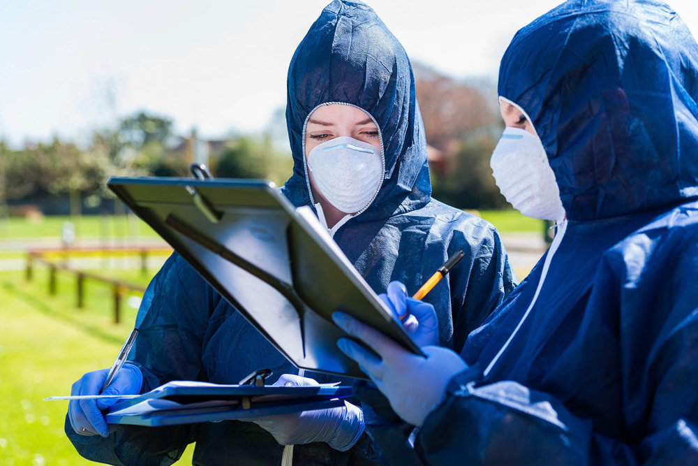 Forensic lesson for college students