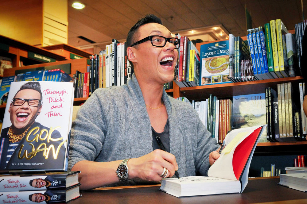 Gok Wan at Jarrold department store Norwich