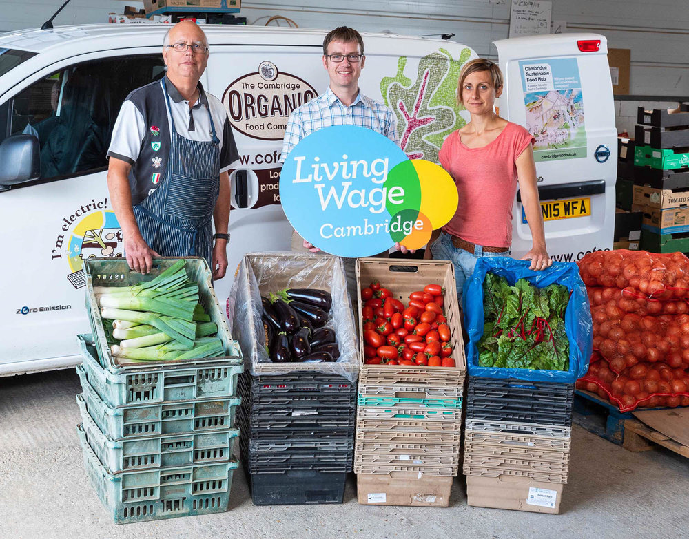 Living Wage at Cambridge Organic Food Company