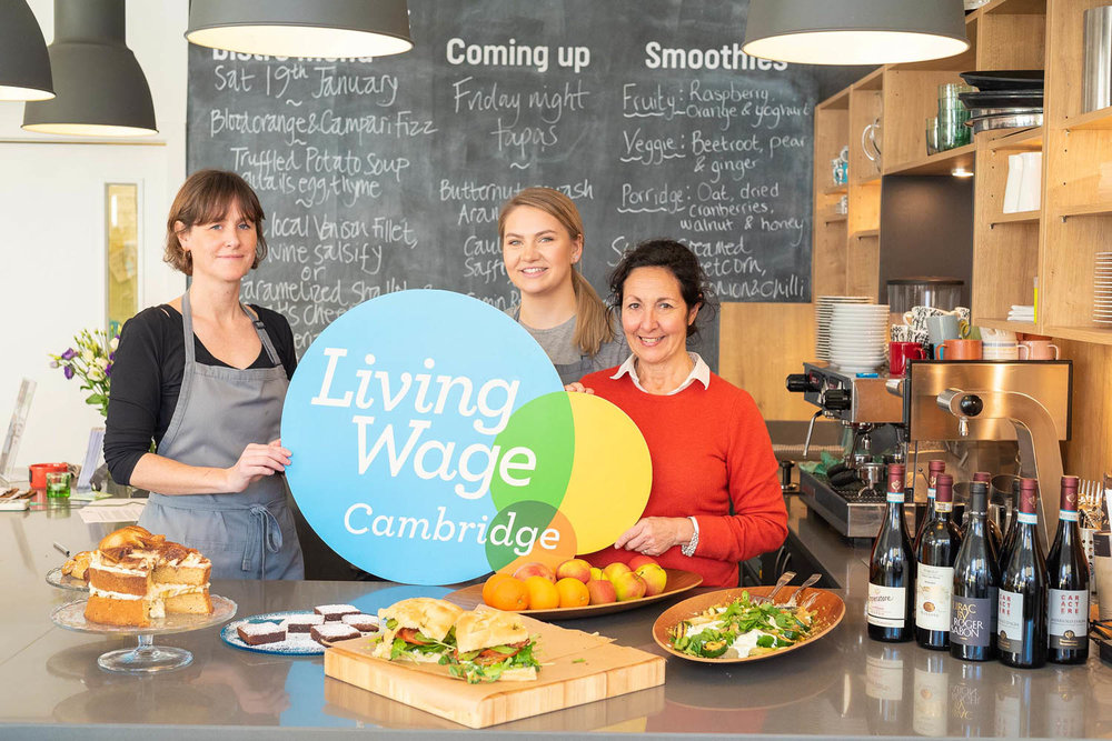 Living Wage Photo Shoot