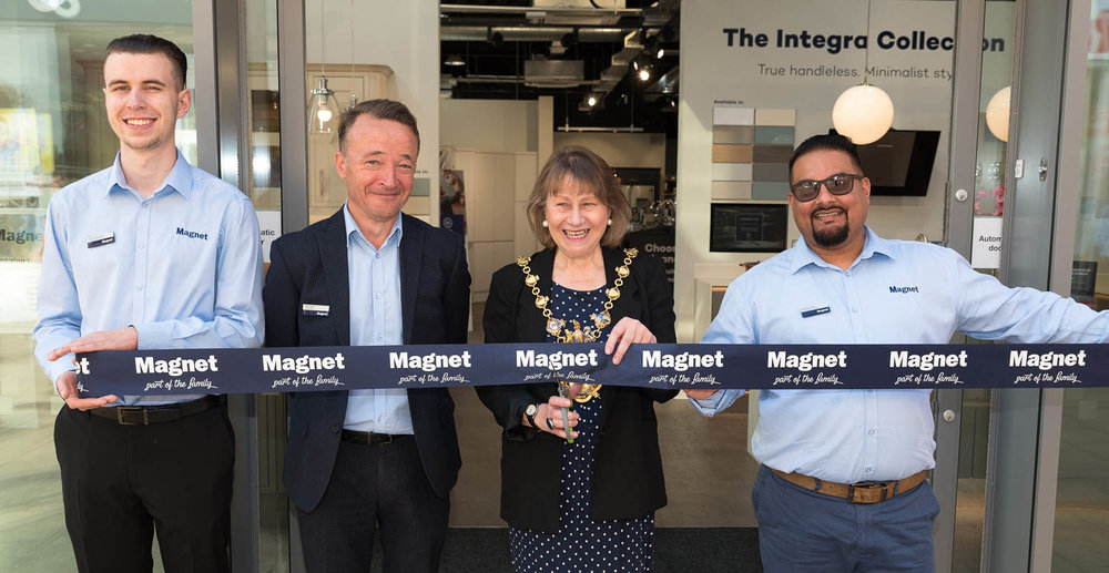 Magnet Store Launch Day Huntingdon