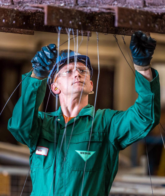 Wedge Galvanizing employee