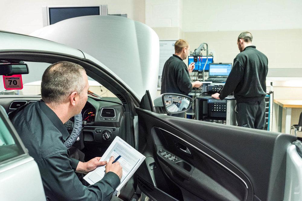 VW training facility