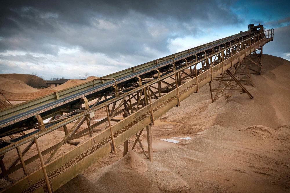 conveyor belt at Hansen, Needingworth