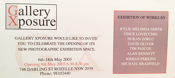 Group exhibition, Gallery Xposure 2003