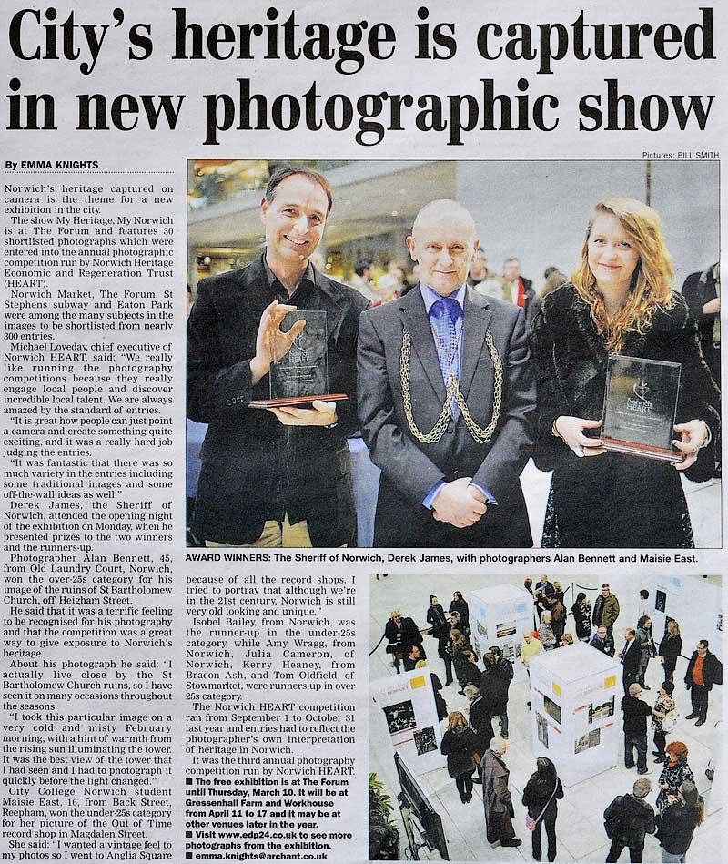 Norwich Heritage Economic & Regeneration Trust (HEART) Award 2011