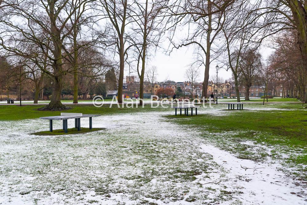 Winter scenes in Cambridge