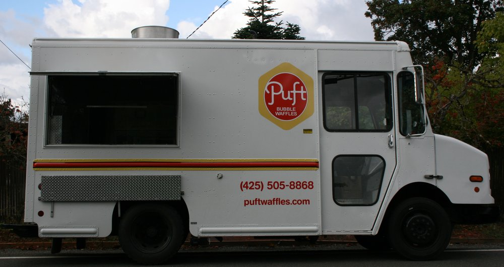PUFT Bubble Waffles - Hongkong Style Bubble WafflesFind on FacebookTwitter: @puftwafflesWebsite: puftwaffles.comPhone: 425-505-5508Email: info@puftwaffles.comAvailable for cateringAlso serves in: Seattle,Kirkland & Redmond