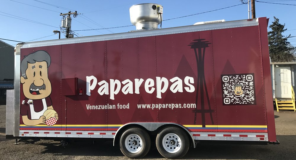 Paparepas - Venezuelan arepas & empanadasFind on FacebookTwitter: @paparepaseattleWebsite: www.paparepas.comPhone: 786-564-3949Email: info@paparepas.comAvailable for cateringAlso serves in: Kent, Redmond & Bellevue